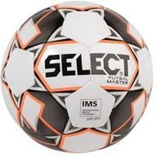 Select Jalkapallo Futsal Master Shiny - Valkoinen/Oranssi/Musta