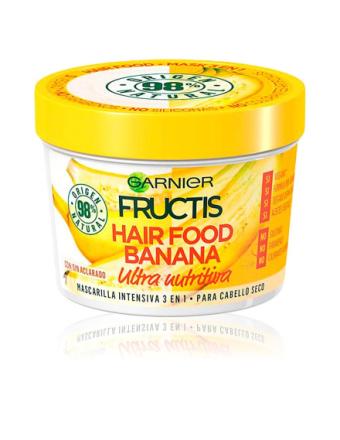 Garnier Fructis Hair Food Banana Mask Ultra Nutritiva 390 Ml