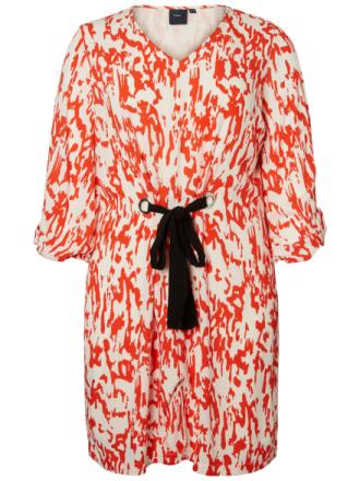 JUNAROSE Printed Dress Women Red
