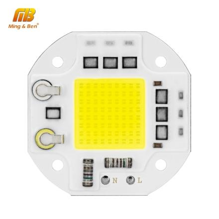 LED COB Chip 20W 30W 50W Surge Prevention Smart IC 220V LED Chip For DIY LED Floodlight Spotlight LED Light Beads No Need Driver