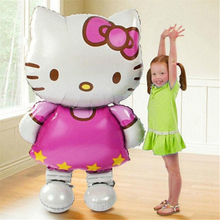 Cartoon hat116*68cm Large Size Hello Kitty Cat Cartoon Wedding Birthday Party Decoration Inflatable Cartoon hat
