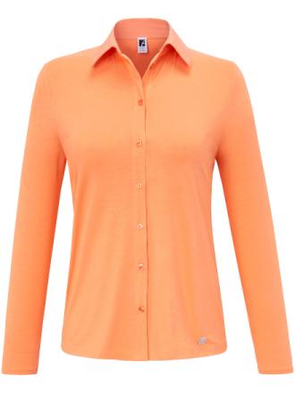Jerseyblus från Anna Aura orange