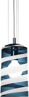 Kosta Boda Power Pendulum Liten Svart/vit Anna Ehrner
