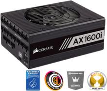 AX1600i Strømforsyning (PSU) - 1600 Watt - 140 mm - 80 Plus Titanium sertifisert