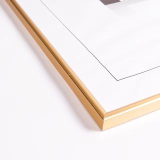 Tavelram i guld, 50x70