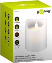 Goobay - LED-kynttilä 7,5x10cm