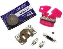 Electro-Fashion Magnet Activated E-Textiles Kit, Blue LEDs