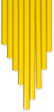 3Doodler PLA muovi - Keltainen