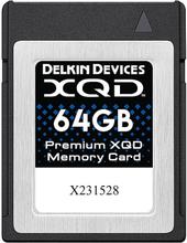 Delkin XQD 64GB 2933X - R440/W400, Delkin