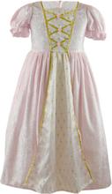 Klänning prinsessa, rosa 3-4 år
