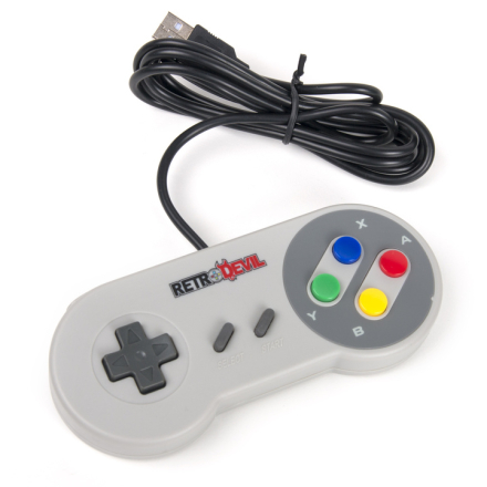 Retro SNES USB-ohjain