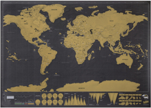 Scratch Map Original Deluxe