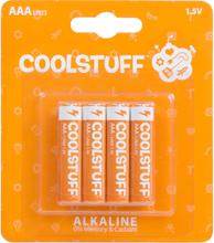 CoolStuff Alkaline Paristot AAA 4 kpl/pakkaus