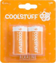 CoolStuff Alkaline Paristot C 2 kpl/pakkaus