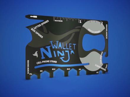 Wallet Ninja-Monitoimityökalu