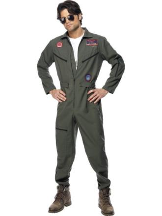 Top Gun Jumpsuit Naamiaisasu Large