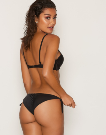 NLY Beach Mix & Match Brazilian Panty Black