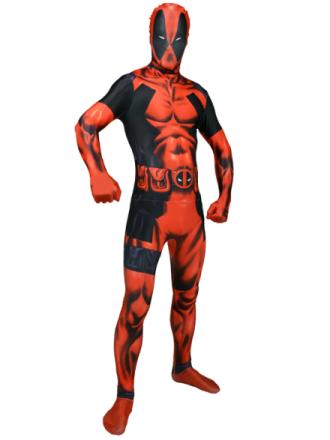 Deadpool Deluxe Morphsuit Naamiaisasu Xlarge