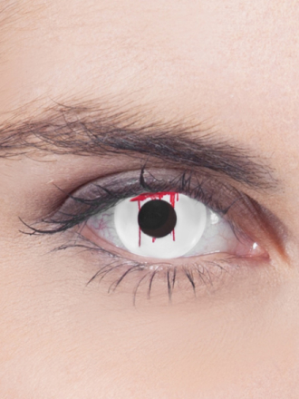 Bleeding Eye white Linssit