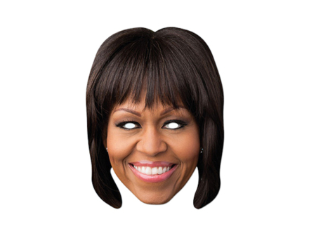 Pahvinaamarit Michelle Obama