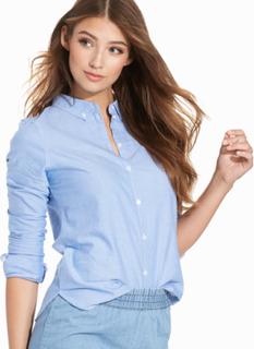 Vero Moda Vmkatie Ls Shirt Noos Blå
