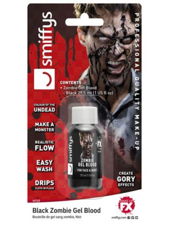 Sort Gel� Zombieblod 28 ml
