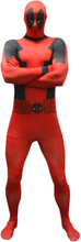 Deadpool Morphsuit Maskeraddräkt Medium