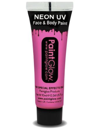 UV Ansikts & Kroppsf�rg Ljusrosa - 10 ml