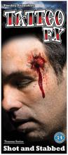Tatovering Shot and Stabbed