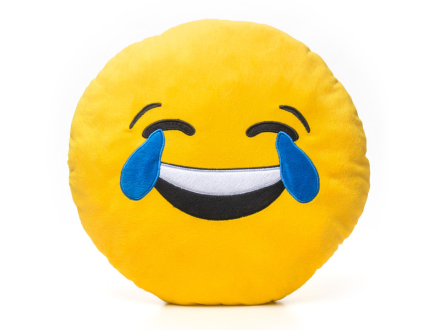 Smiley-Puder 4 - Laughing With Tears