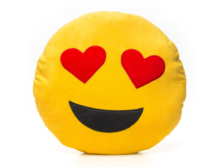 Smiley-Puder 2 - Heart Eyes