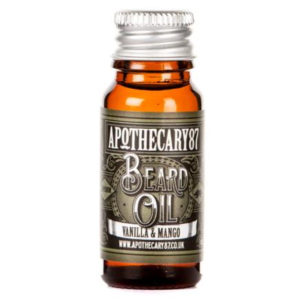 Apothecary87 Vanilla & MANgo Beard Oil 10 ml