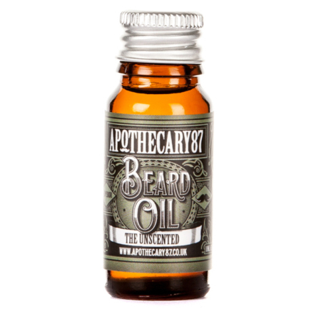 Apothecary87 The Unscented Beard Oil 10 ml