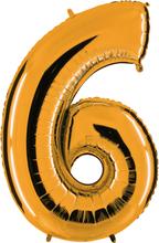 Numeroilmapallo Kulta 6