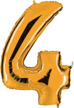 Numeroilmapallo Kulta 4
