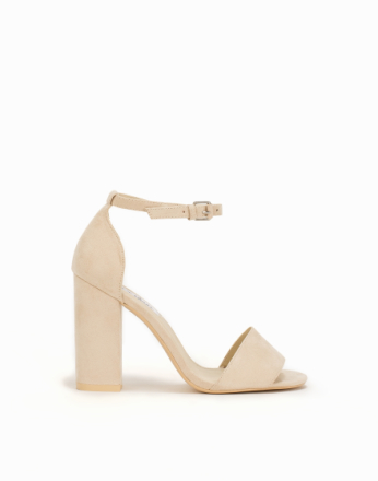NLY Shoes Block Heel Sandal Beige
