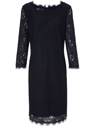 Spetsklänning 3/4-ärm från Uta Raasch blå
