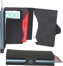 Plånbok med korthållare Safecard Konstläder Grå 2