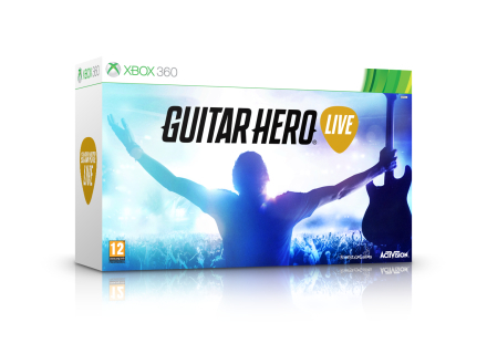 Guitar Hero: Live with Guitar Controller /Xbox 360
