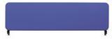 Bordsskärm Softline 45x200 cm blå