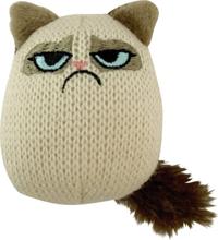 Kattleksak Grumpy Cat Grumpy Knit Pouncey