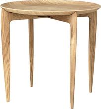 Taitettava tarjoilupöytä Ø 45 cm Tammi