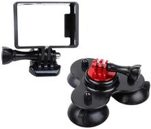 GoPro Hero sugekopholder + Frame HERO4 /3+ /3 /2