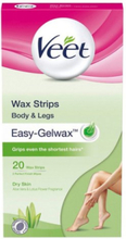 Veet Cold Wax Strips Torr Hud 20st