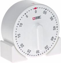 Bengt Ek standard tidsur med magnet hvit