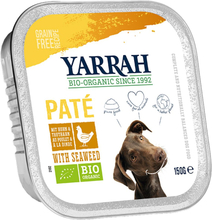 Yarrah Bio Paté 12 x 150 g - Bio Truthahn mit Bio Aloe Vera