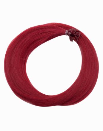Rapunzel Of Sweden Nail Hair Original Rakt 50cm Red