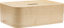 Vakka storage box small ash veneer