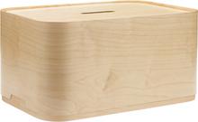 Vakka storage box large ash veneer