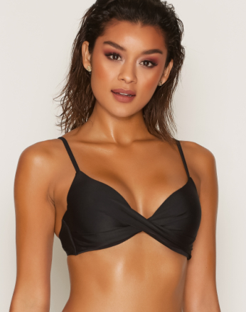 NLY Beach Mix & Match Push Up Bra Svart